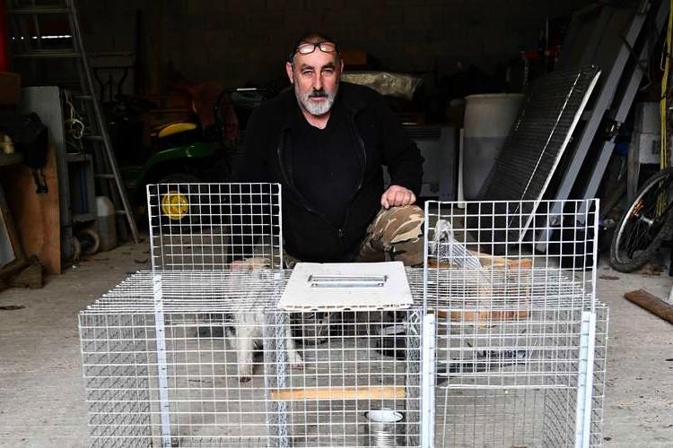 Lot-et-Garonne : Pascal Marotte, le régulateur des nuisibles