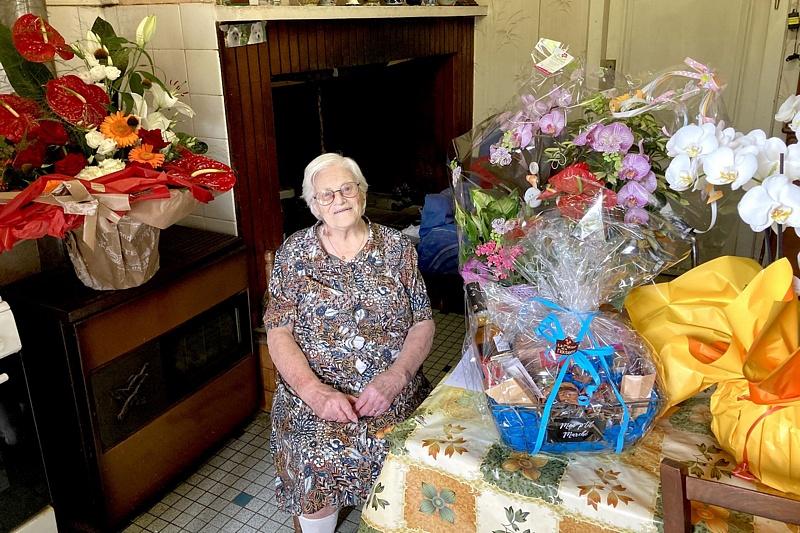 Suzanne Fumarède a fêté ses 100 ans - Photo Patrick Mutel